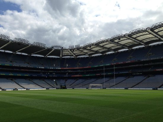 Croke Park Stadium Tour & GAA Museum: Croke Park Stadium from ground level