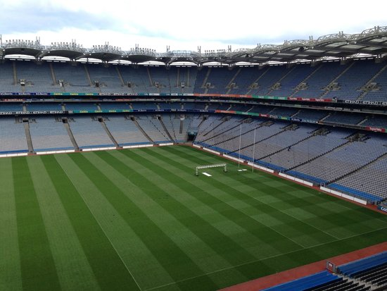 Croke Park Stadium Tour & GAA Museum: Croke Park Stadium from up in the stadium