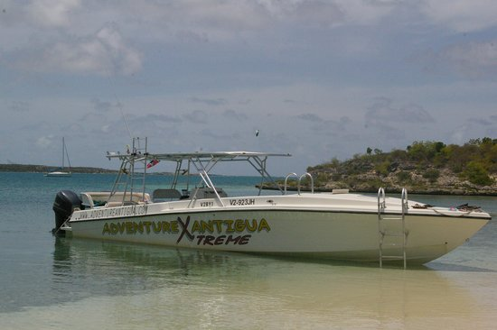 Adventure Antigua : The Beautiful Boat!