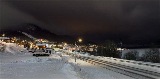 Skistar Åre: Дорога внизу
