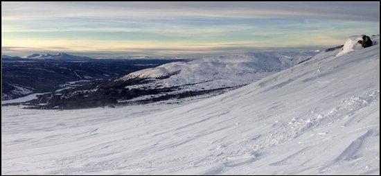 Skistar Åre: Вид в сторону Норвегии