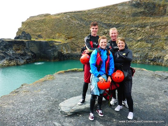Celtic Quest Coasteering: Experience completed