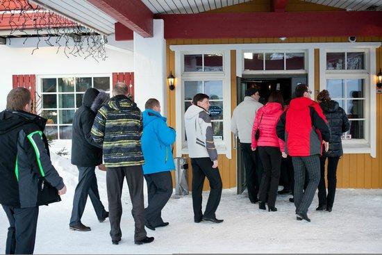 Hotel Hullu Poro: Входная группа