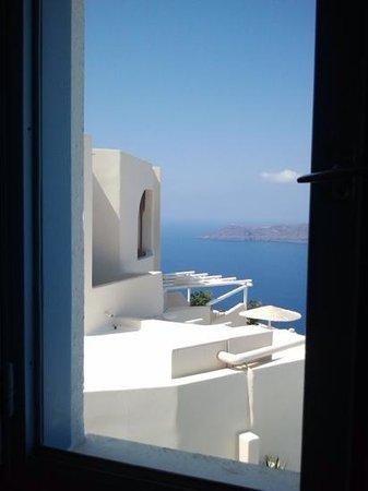 Langas Villas: window view