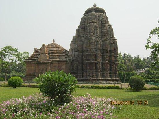 Raja Rani Temple: ゆっくりと彫刻をみてください。