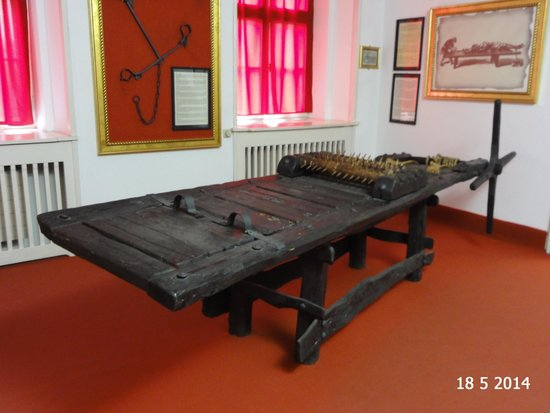 Museum of Medieval Torture : The rack