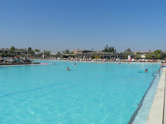 ClubHotel Riu Tikida Palmeraie : this is about 11am :)