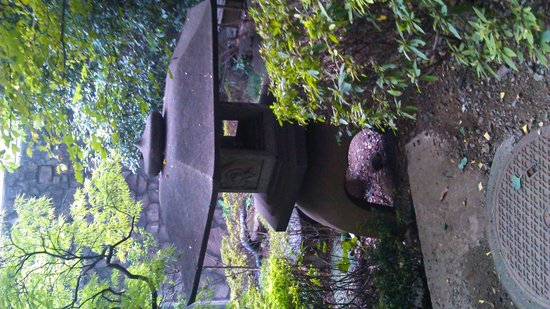 Sheraton Miyako Hotel Tokyo: parco dell 'hotel fantastico