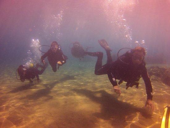 Atlantis Diving Lanzarote : Wir drei mit Laura