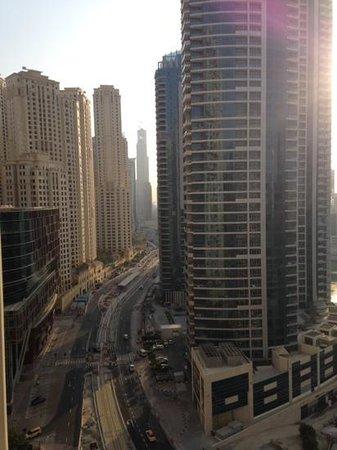 Ramada Plaza Jumeirah Beach: view from the balconey