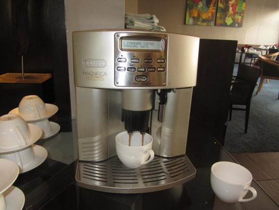 Kempinski Hotel Amman : Macchina del caffè