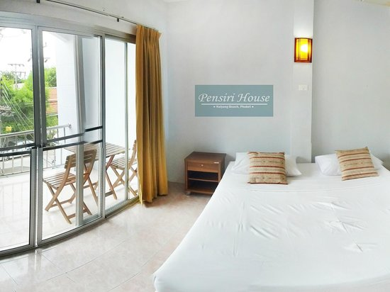 Pen Siri House: Balcony Room, Naiyang Beach near Phuket airport