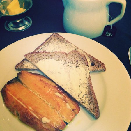 The Wroxeter Hotel: My breakfast of kippers