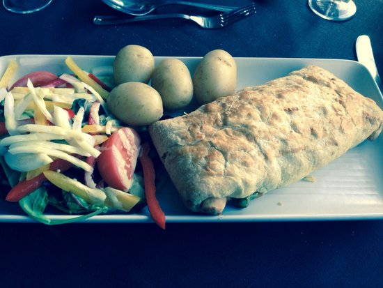 The Wroxeter Hotel: My fidget pie of the dinner menu