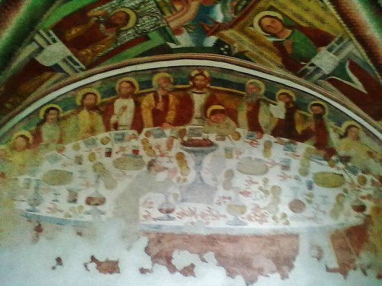 San Lorenzo in Banale, Italie : Tavola ben imbandita