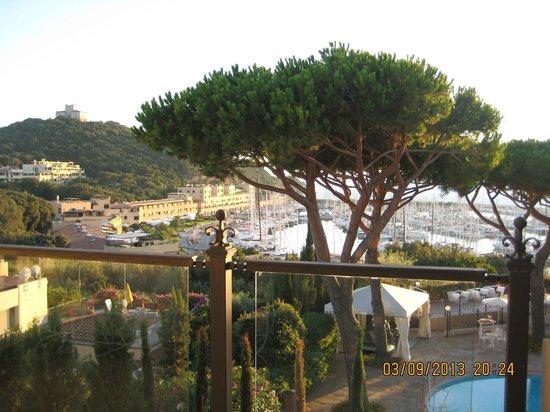 Baglioni Hotel Cala del Porto : Вид из номера