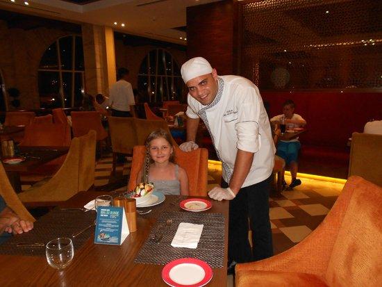 Hilton Al Hamra Beach & Golf Resort : Küchenchef Ramy Omara