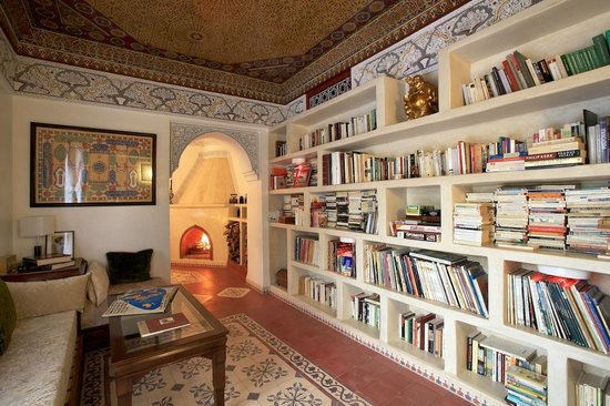 Riad Noos Noos: Bibliothèque