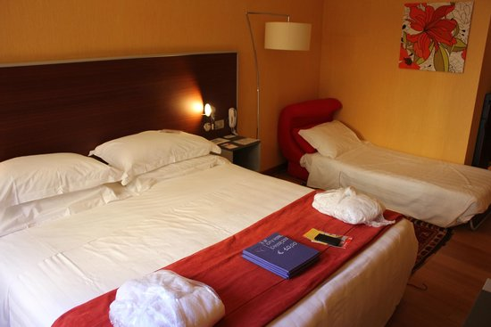 Best Western Plus City Hotel: the room