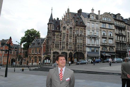 Warwick Brussels: Неподалёку
