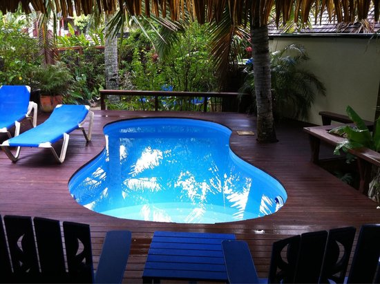The Rarotongan Beach Resort & Spa : Piscina privata della Honeymoon suite