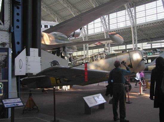 Musée Royal de l'Armée (Koninklijk Legermuseum): padiglione aviazione