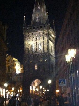 The Powder Tower: Prasna brana (prague tower)