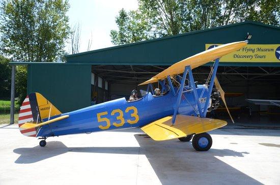 Vintage Aeroplane Europe AB: Flight preparation