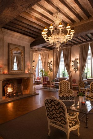 Fire place Hotel d'Aubusson Paris