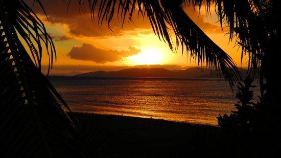 Aroha Taveuni: amazing sunsets