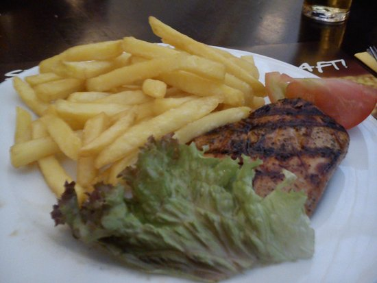 Maredo: Chicken and chips. Great chicken! Succulent.