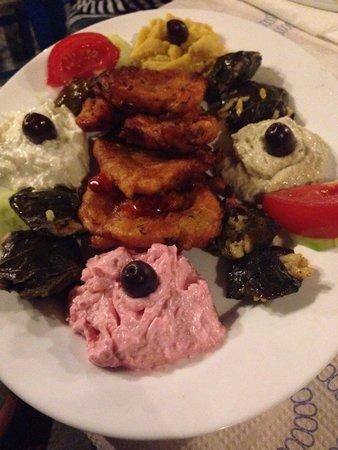 Taverna Glaros : Antipasto per due