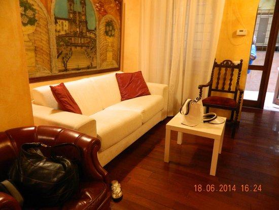 Hotel Trevi: Вот такой уютный уголок