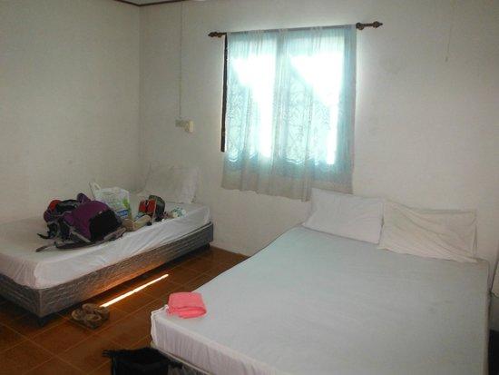 Sunshine Beach Resort: Unser geräumiges Zimmer