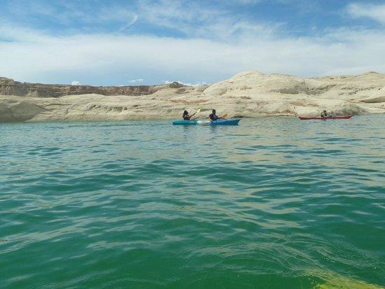 Hidden Canyon Kayak: balade sur le lac Powell