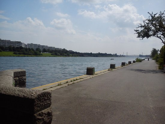Alte Donau: Peaceful - but nothing to do