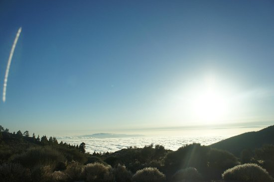 Volcan El Teide : Over clouds -Teide