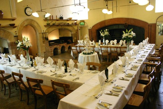 Ollerton, UK: Savile Reastaurant set for a wedding breakfast
