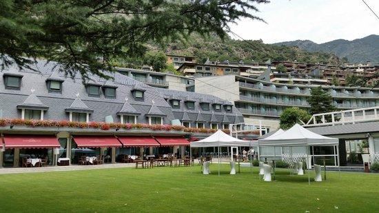Andorra Park Hotel: Restaurant and hotel
