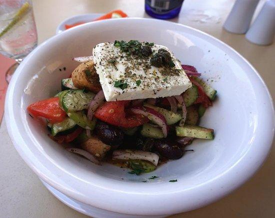 Anogi: Feta Salad