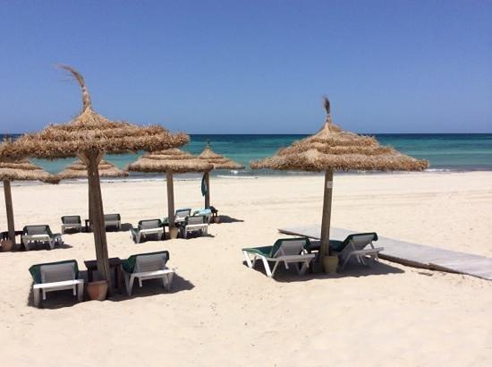 Hasdrubal Prestige Thalassa & Spa: Plage de l'hotel