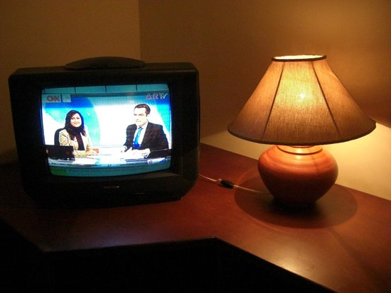 The Tamarind Tree Hotel : Old tv