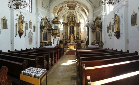Altenstadt, Alemanha: Interior of the church