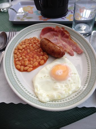 The Edwardian Lodge Guest House: Colazione