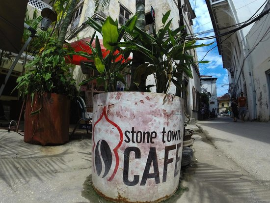 Stone Town Cafe and Bed & Breakfast: Outside view