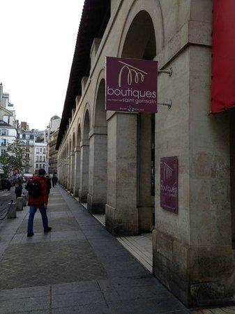 Quartier Saint-Germain-des-Prés : Great area for walking
