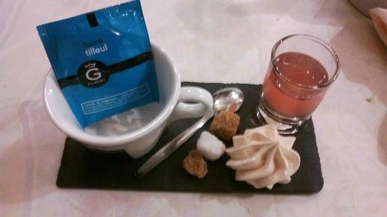 Le Baccarat : Tisane + Digestif