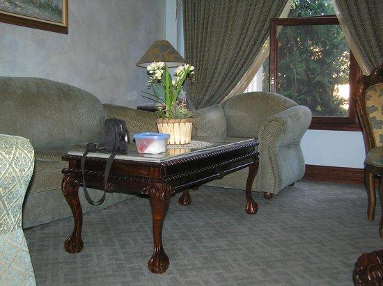 Dallas Residence Hotel : Living-room
