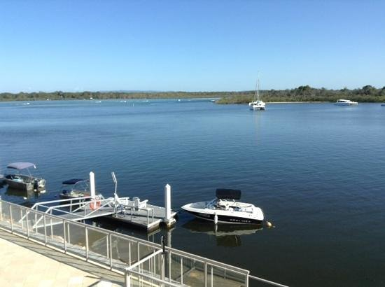 Noosa Shores Resort: view from our balcony