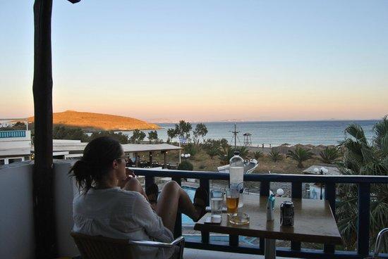 Akti Aegeou: our balcony